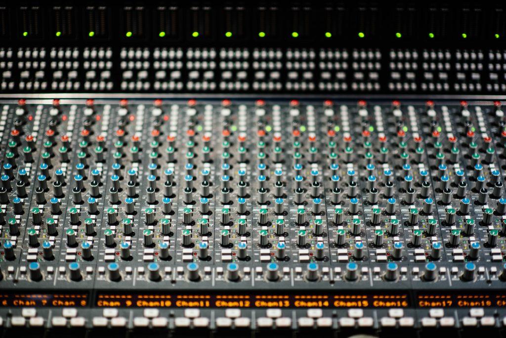 Le mix - ingénieur du son